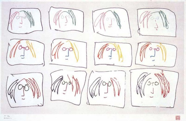 John_Lennon_Multiple_Self_Portrait