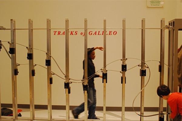 tracks of galileo