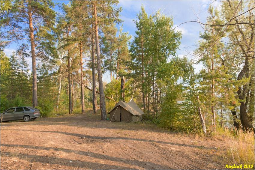 Волга, Болгар (наш лагерь)