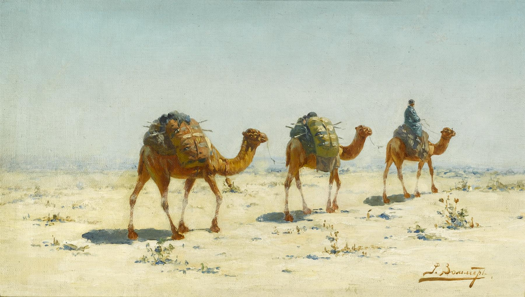 Картинки по запросу Караван в Живописи