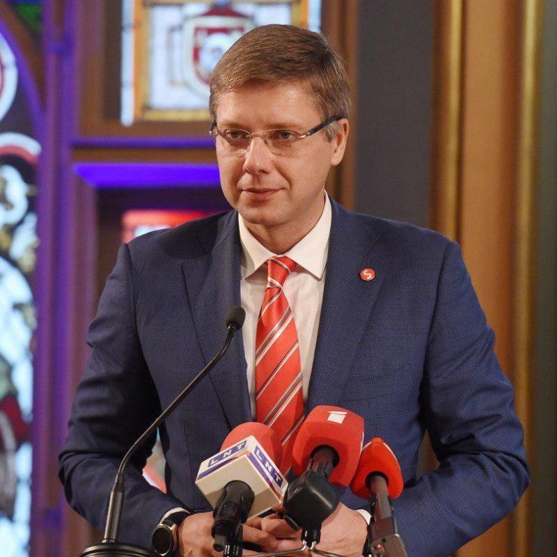 Мэр города Риги Нил Ушаков. Фото: Нил Ушаков/Twitter