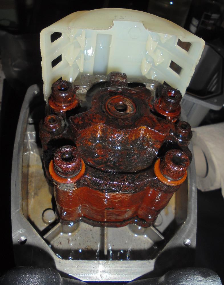 Насос VPA-1100 ржавчина