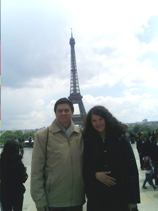 Мы и Эйфелева башня