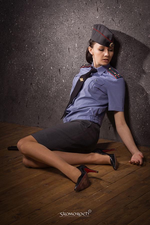 просмотр эро фото русских девушек в милицейской форме