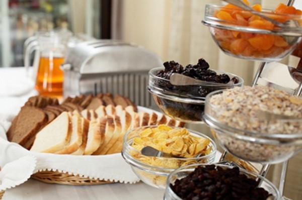 ужасно!!! завтрак по системе шведский стол это как талоны карты