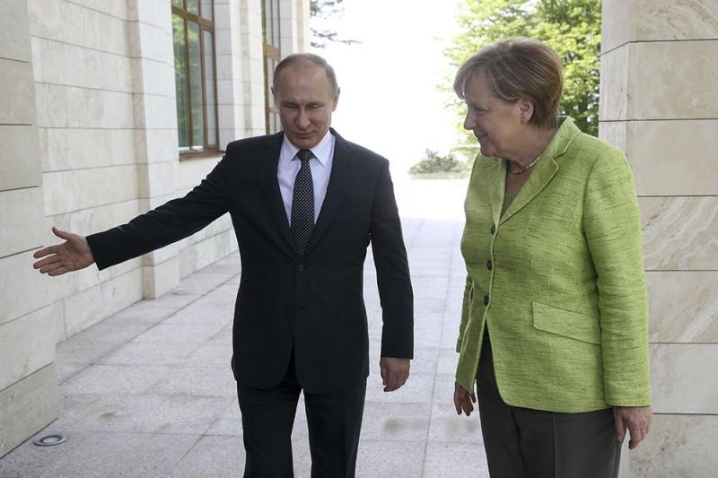 Ангела Меркель и её российские проблемы