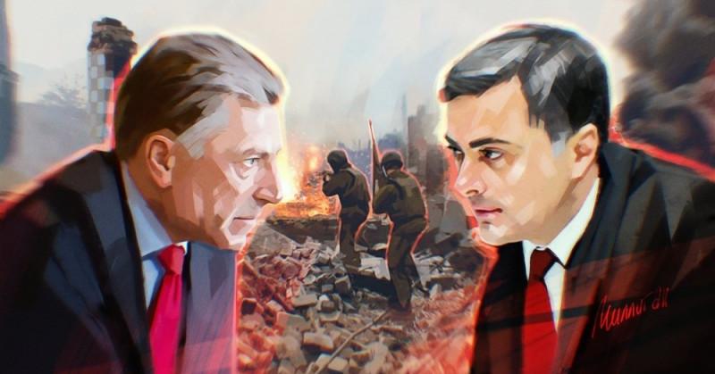 """Сурков и Волкер защищают """"Минск"""""""