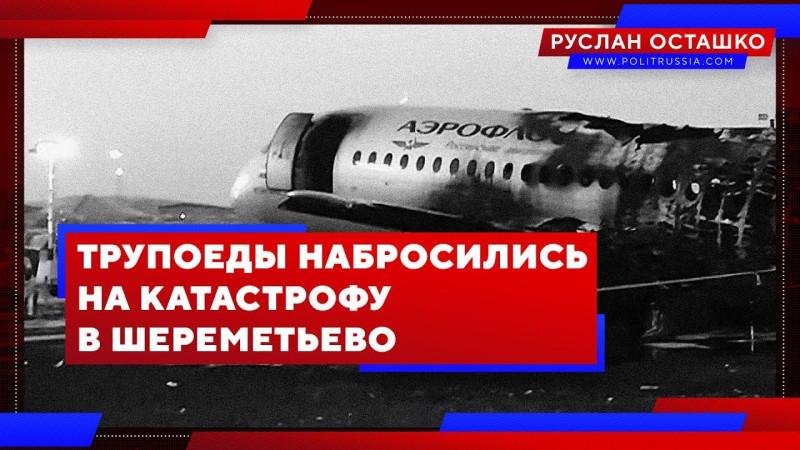 Трупоеды набросились на катастрофу в Шереметьево