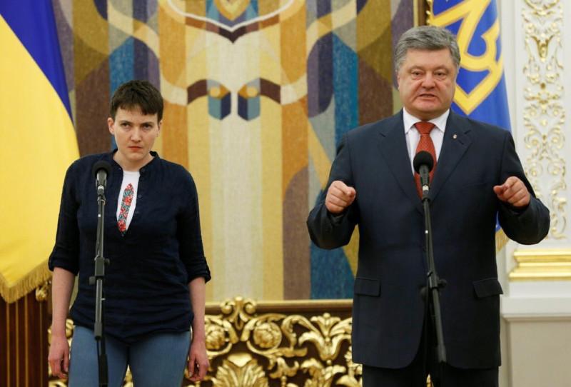 Об обмене Савченко