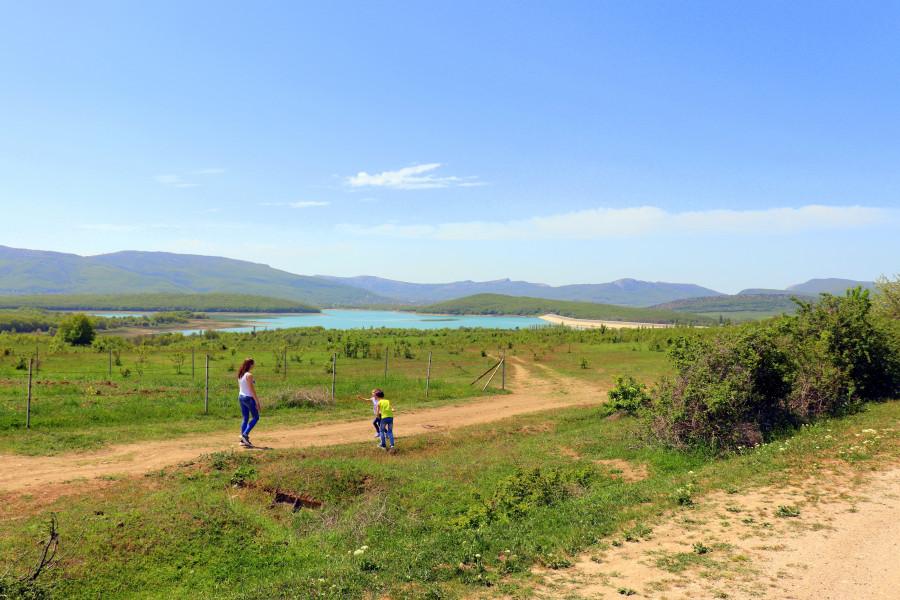 Озера Байдарской долины