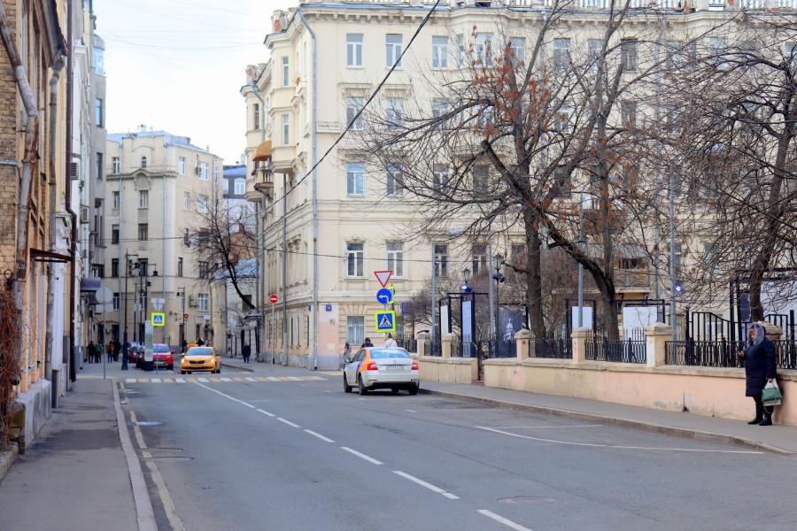 Москва, как она есть. Потаповский переулок