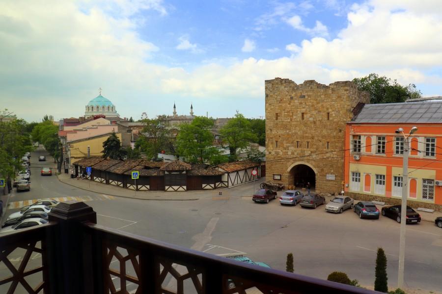 Отель Jeval один из самых колоритных отелей Крыма