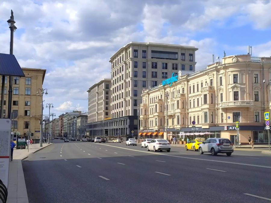 На Тверской улице появился новый дом