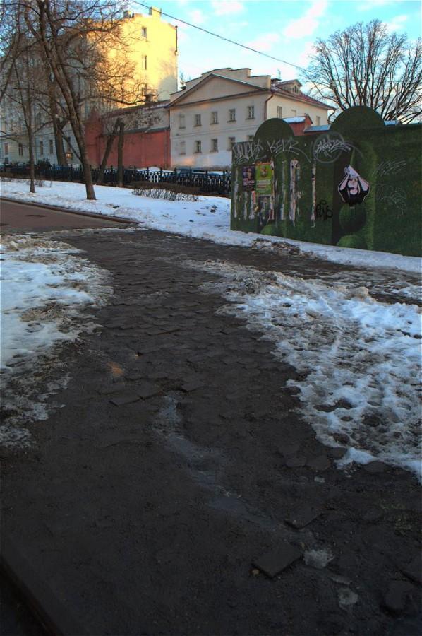 Ну шта, кто там ещё в пределы Садового на мойшине ездит?