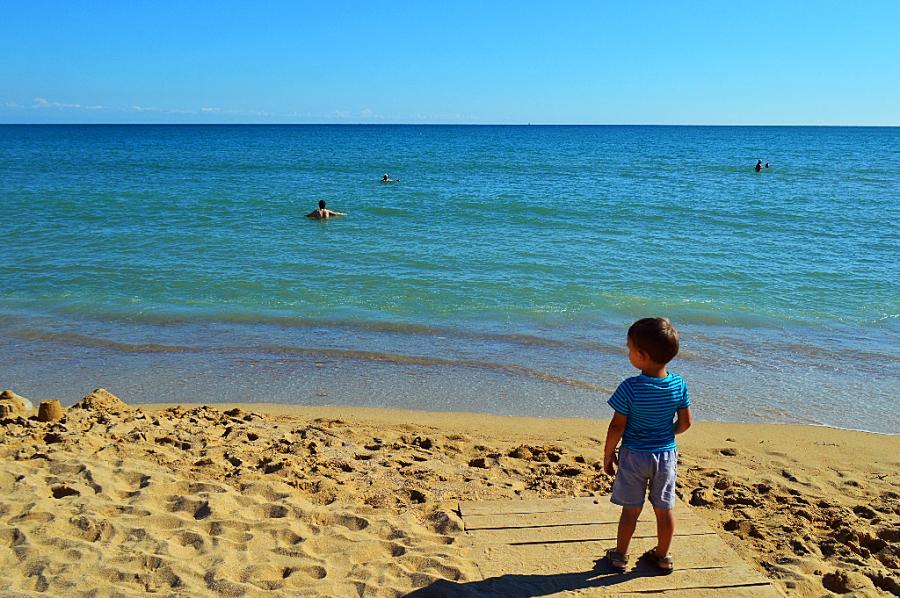 Заозерное и Евпатория. Обзор пляжей.