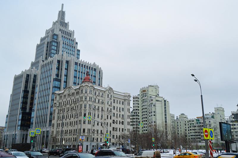 Москва, как она есть. Садовая-Каретная улица