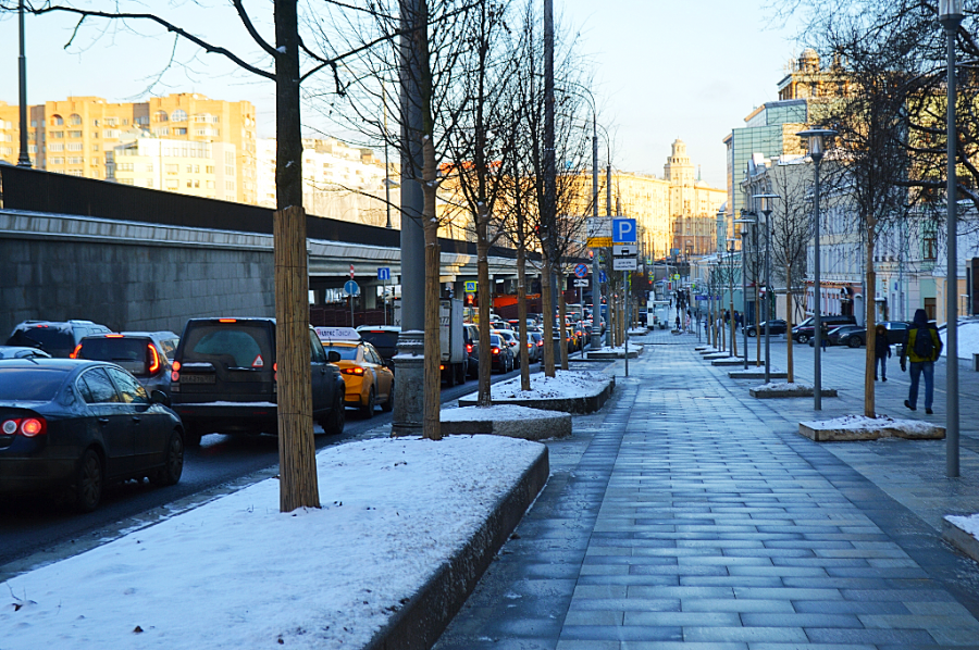 Москва, как она есть. Садовая-Самотёчная улица