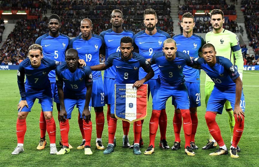 Футбол франция 2018