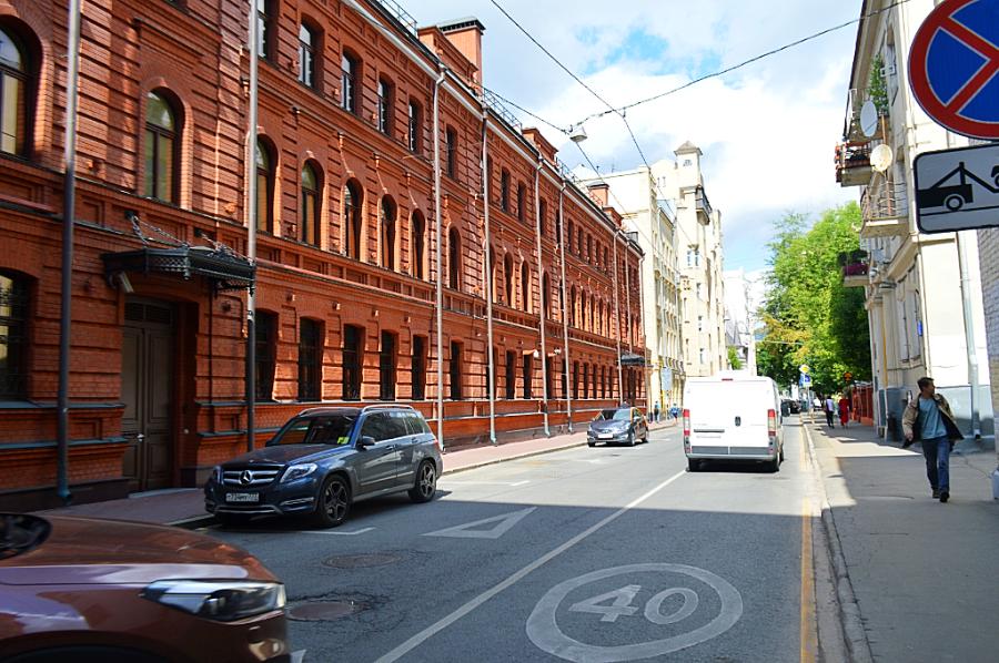 Москва, как она есть. Трехпрудный переулок