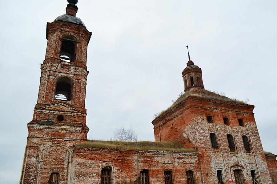 Церковь Иоанна Богослова в селе Ильинское