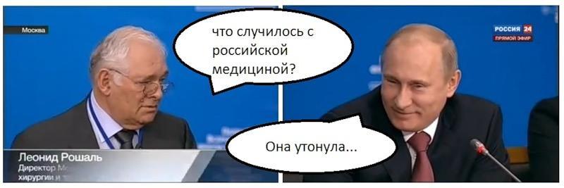 Гнилая медицина России. Часть пятая