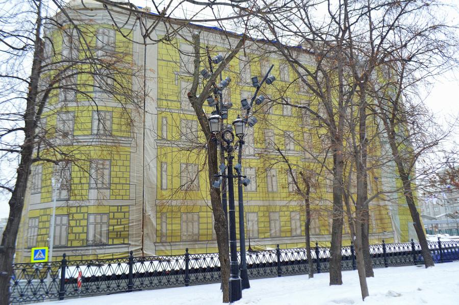 Москва, как она есть. Сретенский бульвар(часть 1)