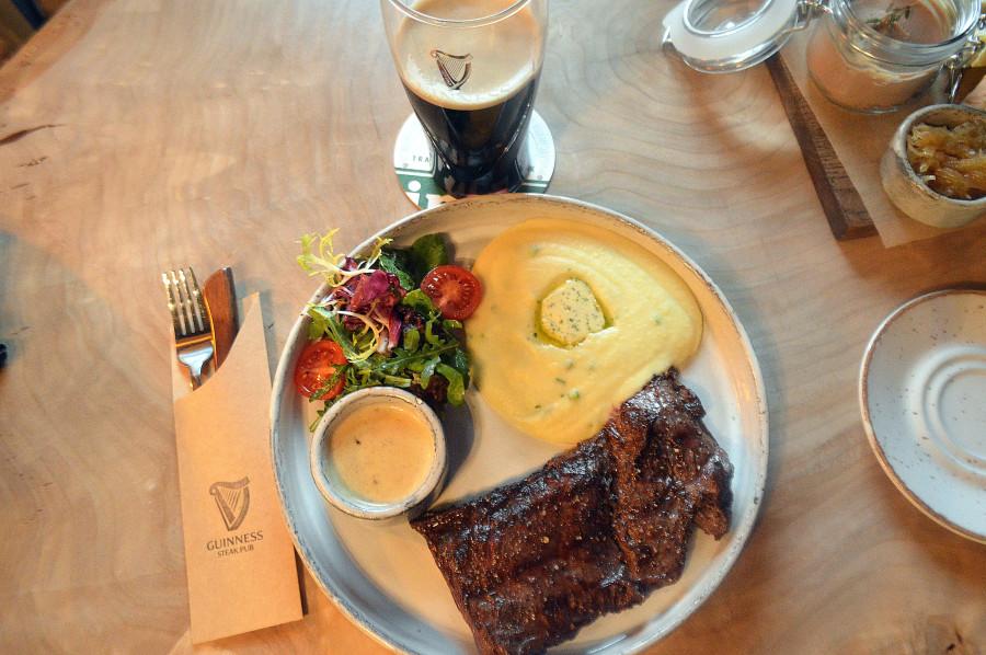 Guinness Steak Pub - новый паб в центре Москвы