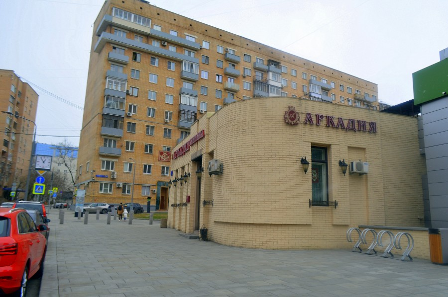Москва, как она есть. Проточный переулок
