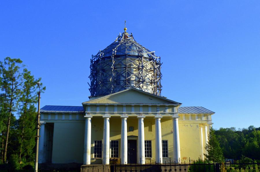 Усадьба Богучарова - кампанила Сан Марко в Тульской области