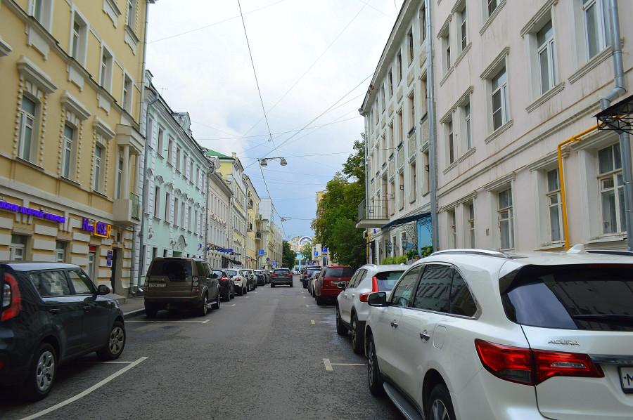 Москва, как она есть. Большой Головин переулок