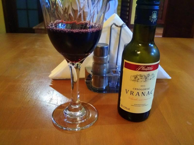 Вино Plantaze, Vranac