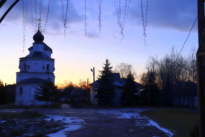 Церковь Николая Чудотворца в селе Стрелково