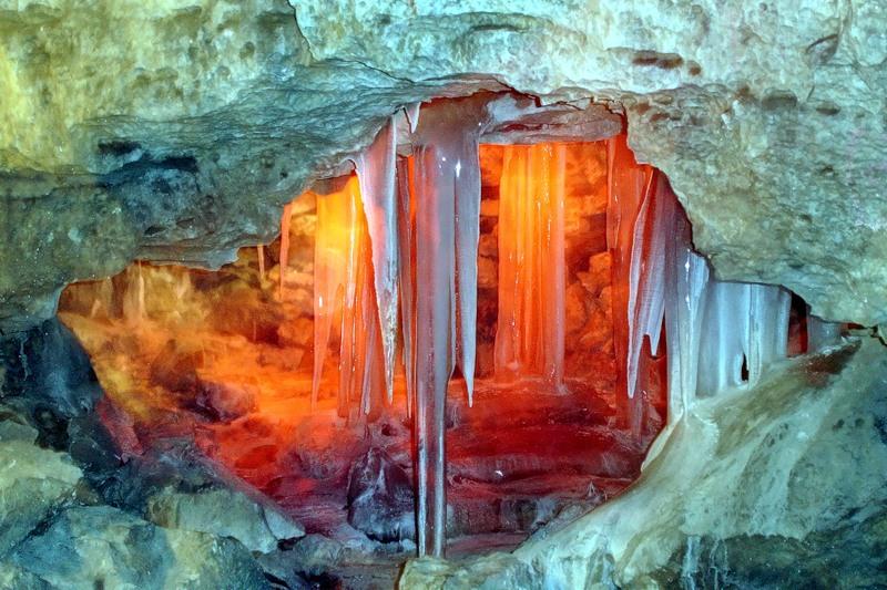 Кунгурская пещера2