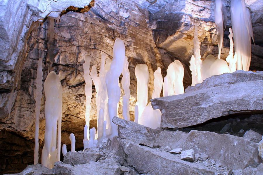Кунгурская пещера3