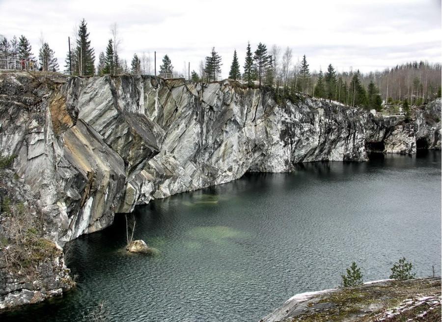 Мраморный каньон Рускеала (1)