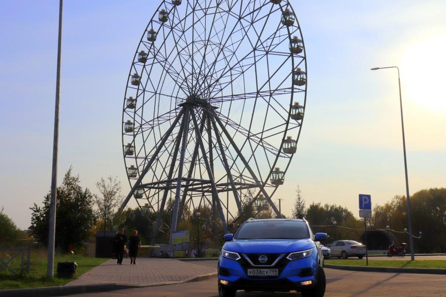 Nissan Qashqai - хорошист из Японии