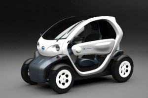 Nissan Clones the Renault Twizy EV