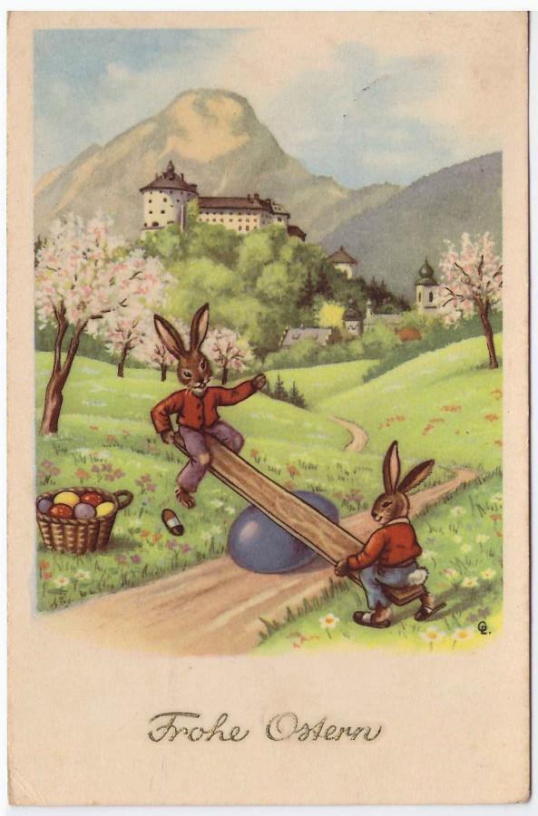Смешные открытки с пасхой на немецком, школы анимашки