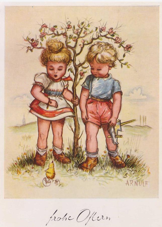 уверена, старые немецкие открытки продать время возле