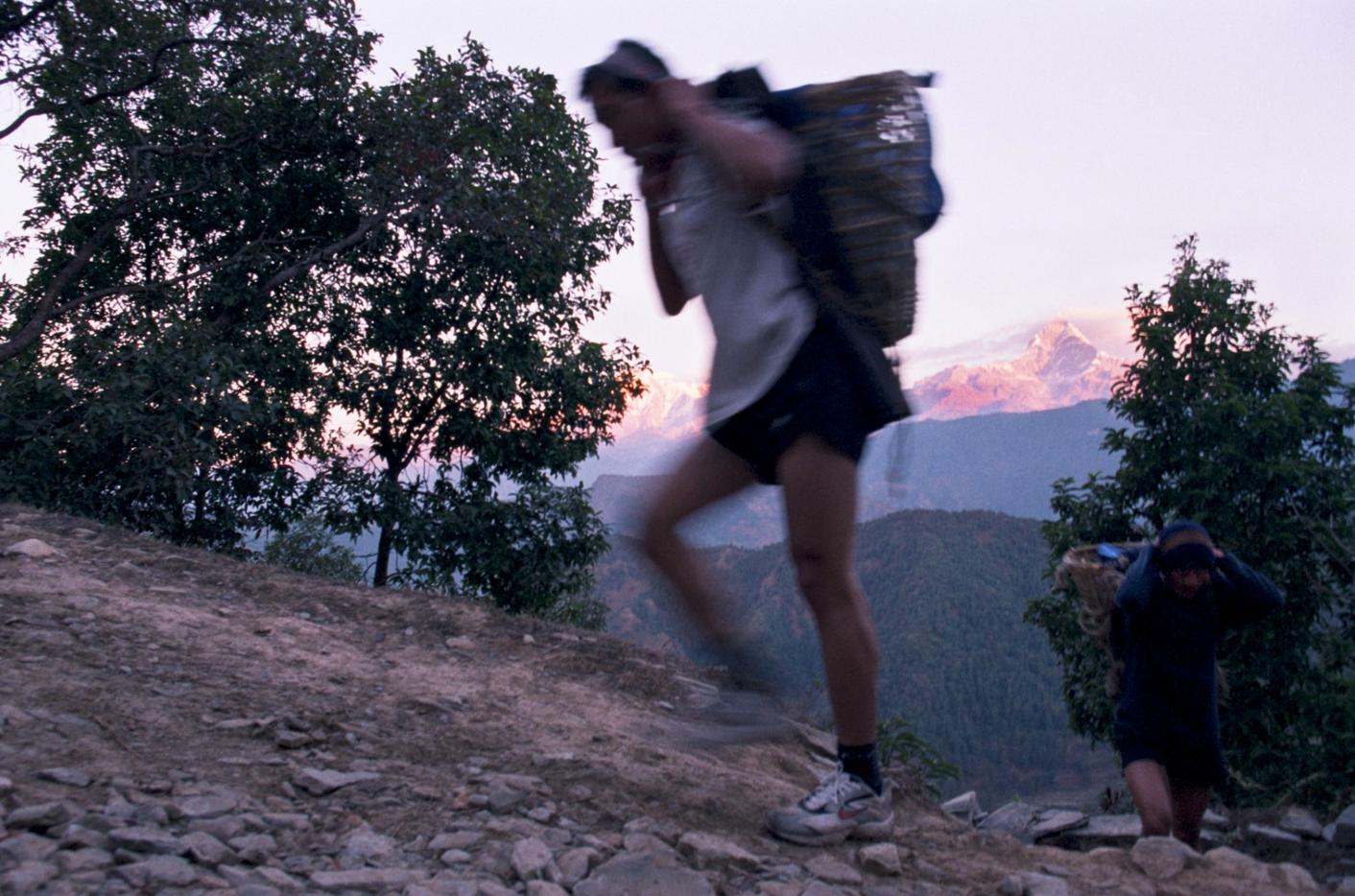 The_doko_race__near_Pokhara__eastern_Nepal