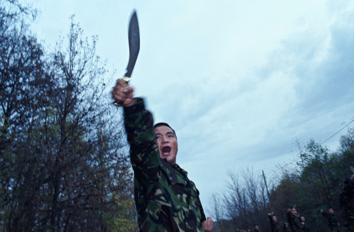 Combat_training_with_kukri__Bosnia