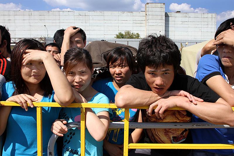 Гольяновский концентрационный лагерь для мигрантов