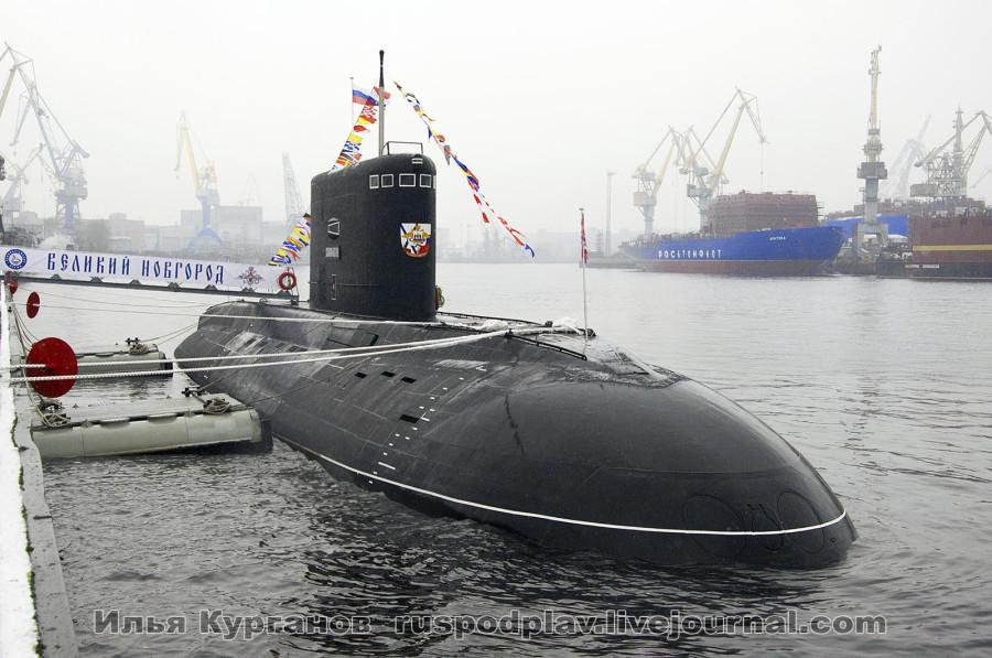 Б-268 «Великий Новгород» проекта 636.3