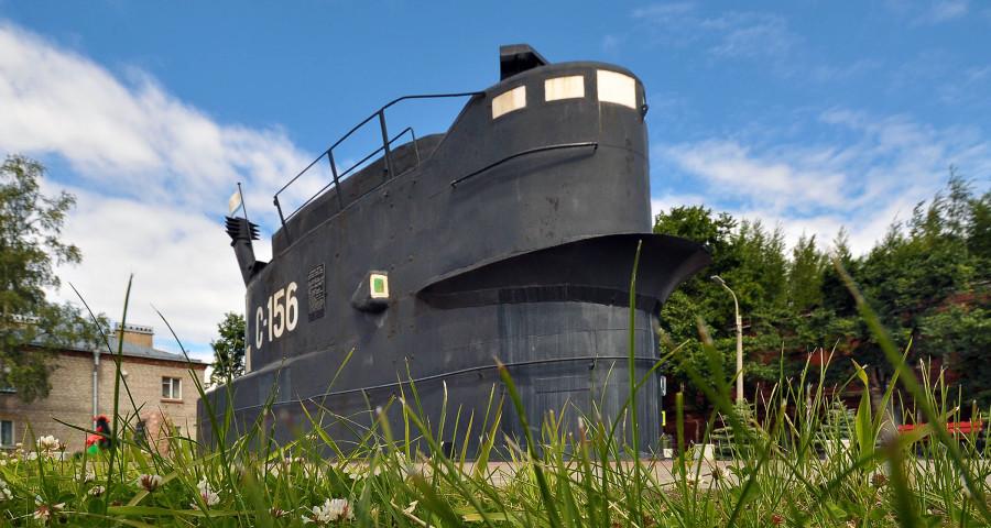 Рубка подводной лодки С-362 проекта 613 в Кронштадте. Фото: http://wikimapia.org