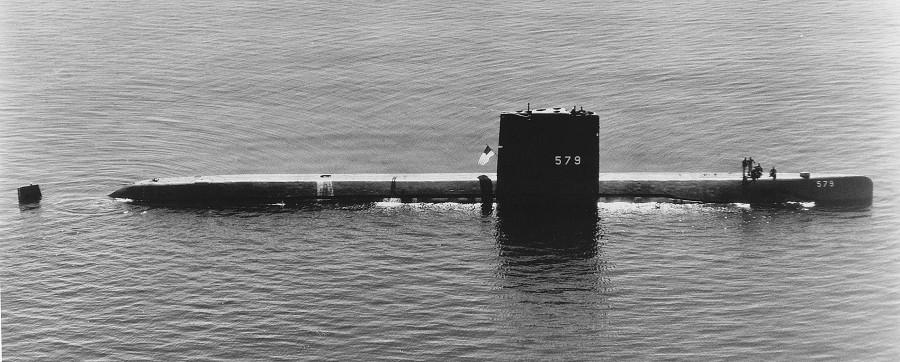 SSN-579 «Swordfish»