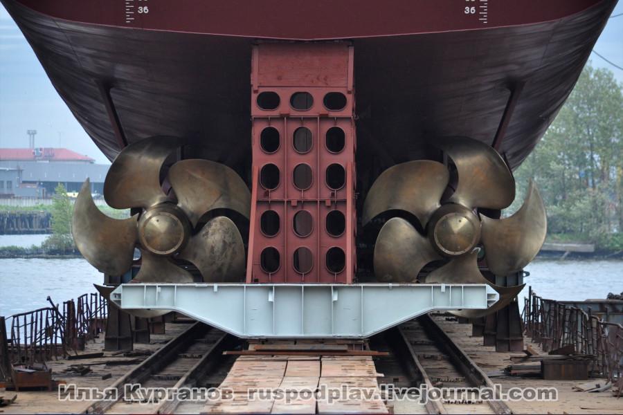 Спуск на воду корвета «Гремящий» проекта 20385