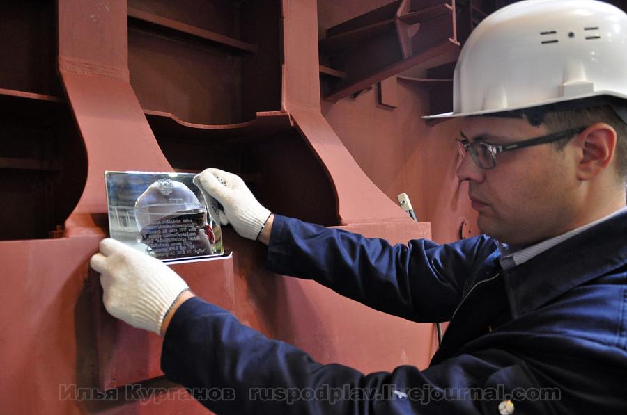 """Закладка двух подводных лодок """"Петропавловск-Камчатский"""" и """"Волхов"""" проекта 636.3"""