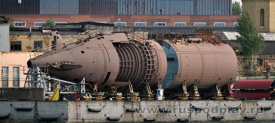 Б-587 «Севастополь» проекта 677
