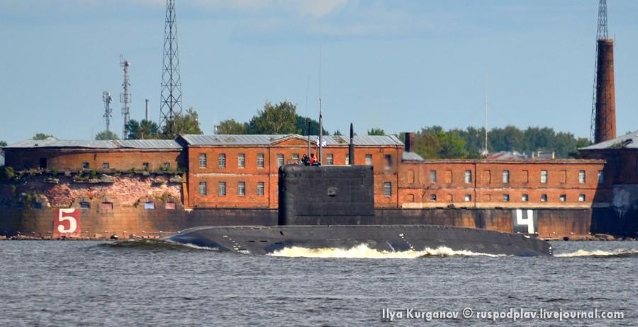Б-274 «Петропавловск-Камчатский» проекта 636.3 вышла на ходовые испытания