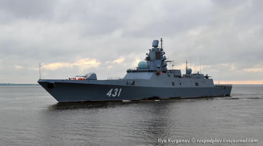 Фрегат «Адмирал флота Касатонов» проекта 22350